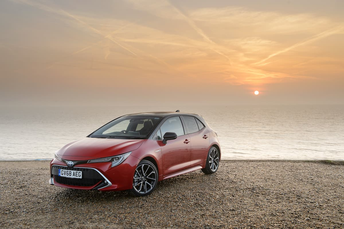 Toyota Corolla (2019 onwards) - front