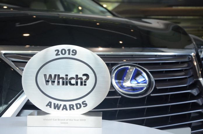 Lexus crowned Britain's Best Car Brand in the 2019 Which? Awards 1