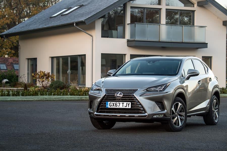 Lexus NX (2018) front view | The Car Expert
