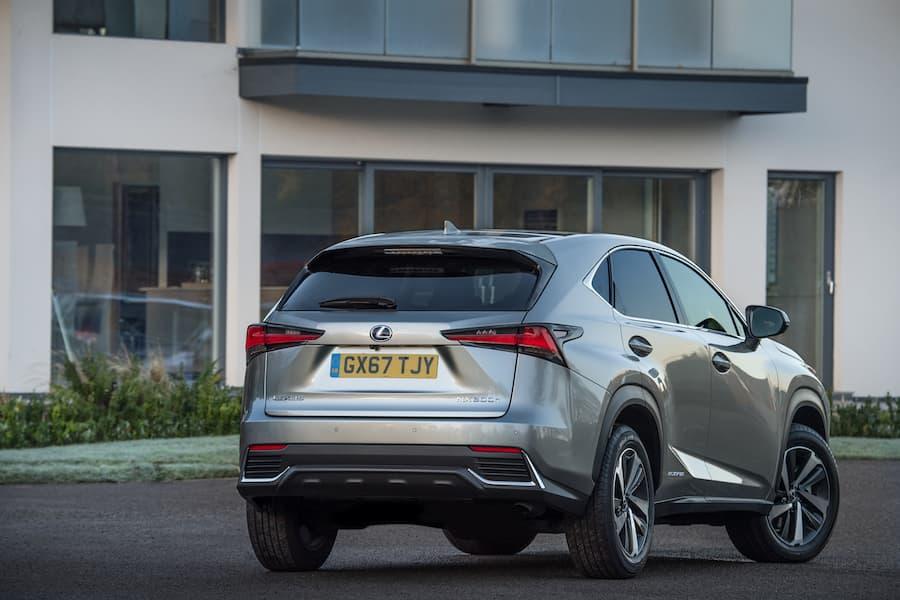 Lexus NX (2018) rear view | The Car Expert