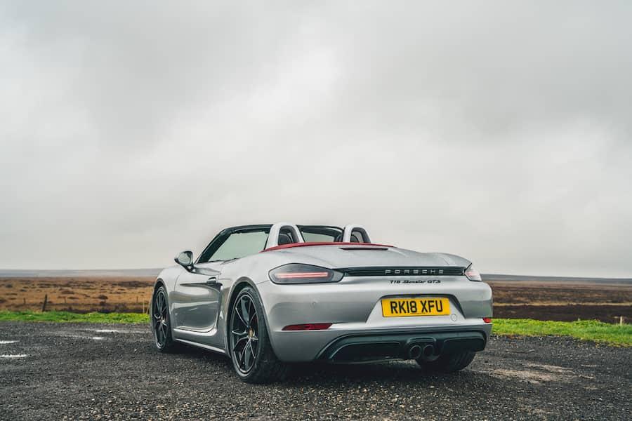 Porsche 718 Boxster GTS (2018) rear view | The Car Expert