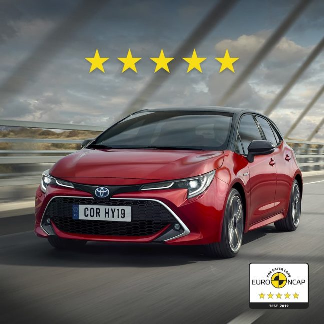 Double top for Toyota as new Corolla and RAV4 excel in Euro NCAP safety testing 1