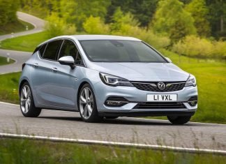 Vauxhall Astra facelift - front   July 2019   The Car Expert