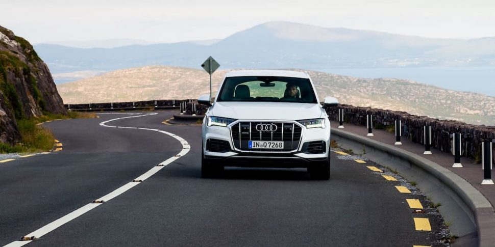 2020 Audi Q7 road test - front view | The Car Expert