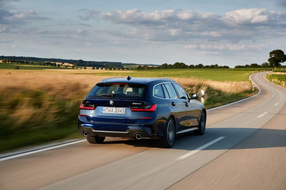 2020 BMW 3 Series Touring road test - rear | July 2019 | The Car Expert
