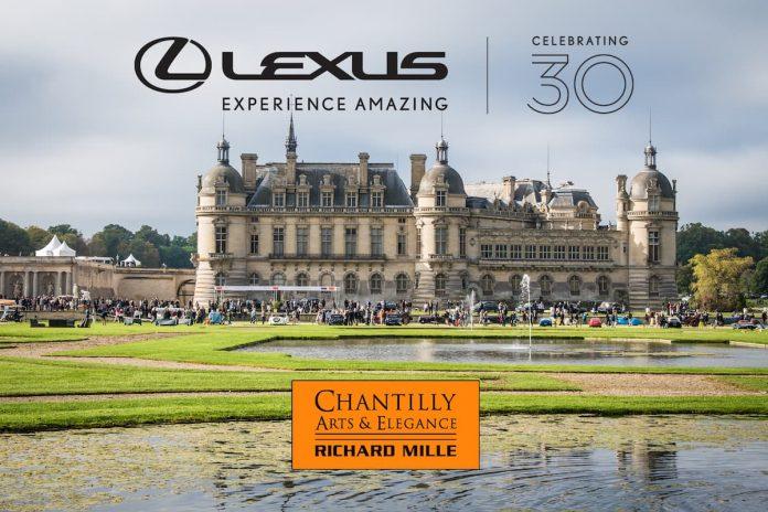 Lexus celebrates its 30th anniversary at the Chantilly Arts & Elegance Richard Mille 2019 1