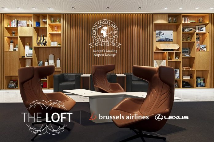 The Loft by Brussels Airlines and Lexus named Europe's leading airport lounge 1