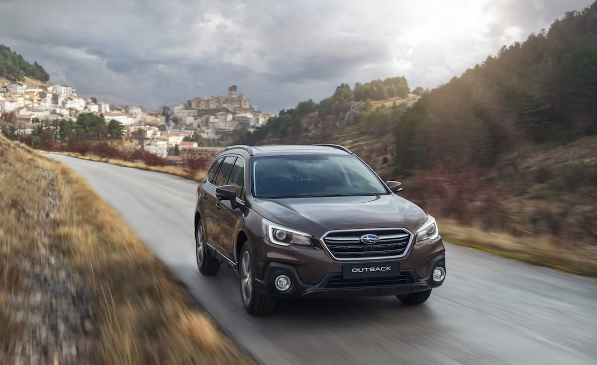 2019 Subaru Outback road test – front | The Car Expert