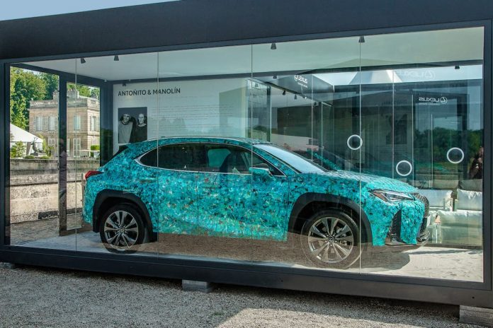 Lexus reveals winners of the UX Art Car competition at Chantilly Arts & Elegance Richard Mille 1
