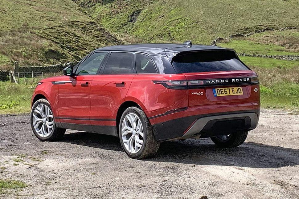 Range Rover Velar review 2019 - rear view | The Car Expert