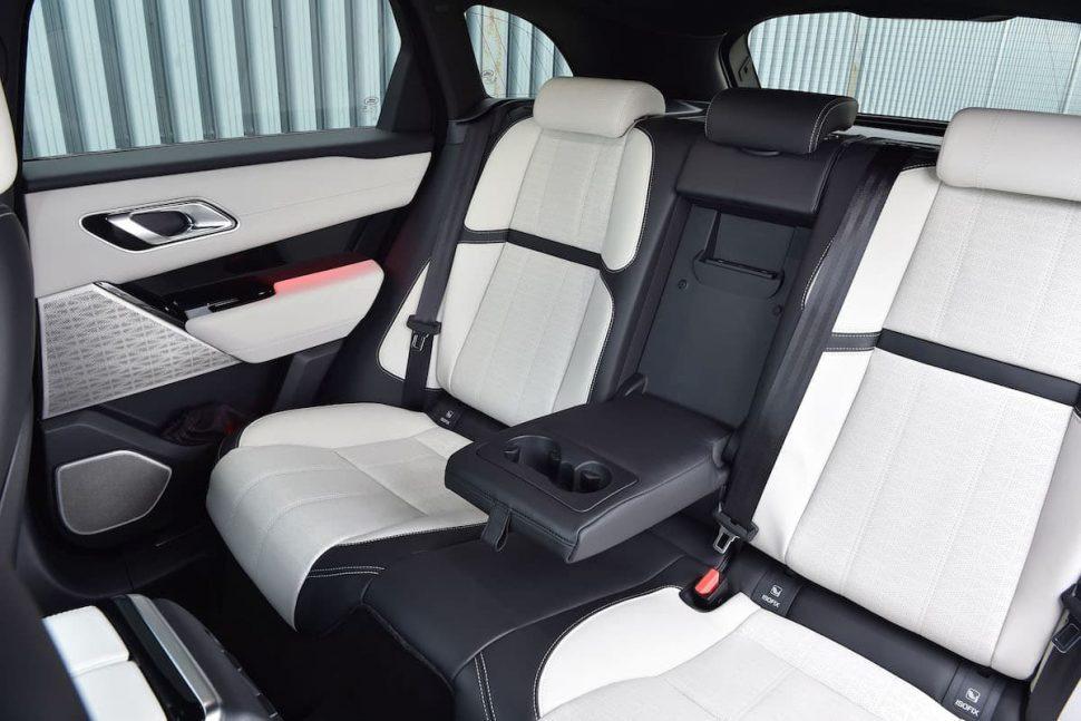 Range Rover Velar review 2019 - rear seats | The Car Expert