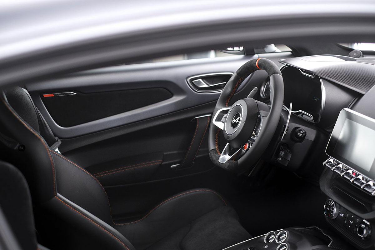 Alpine A110S interior The Car Expert