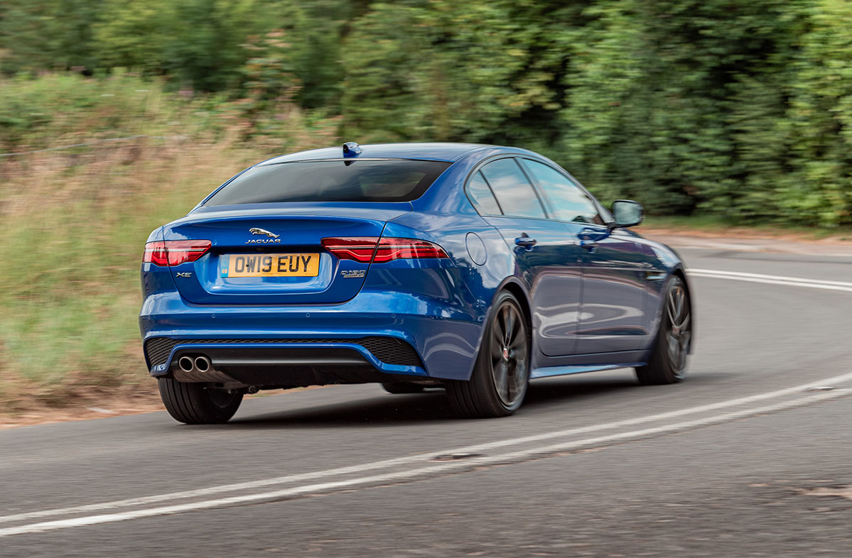 Jaguar XE 2020 rear The Car Expert