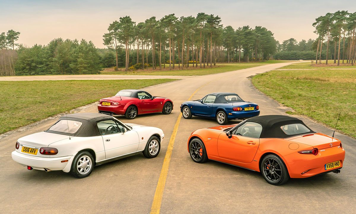 Mazda MX-5 30th Anniversary group The Car Expert