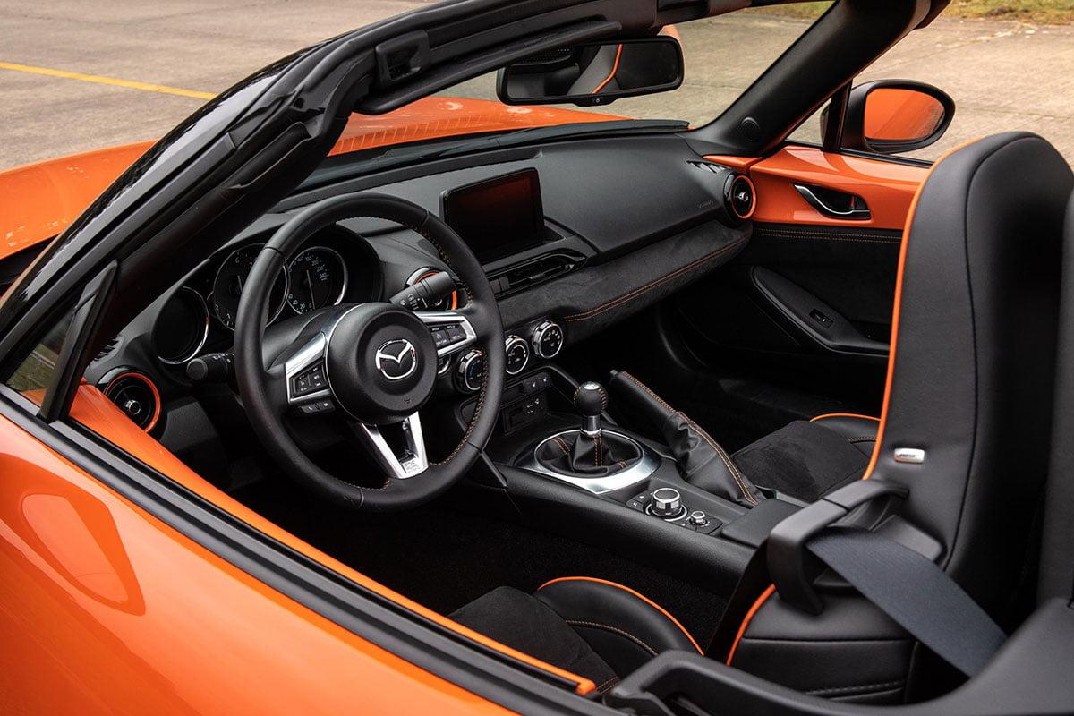 Mazda MX-5 30th Anniversary cabin The Car Expert