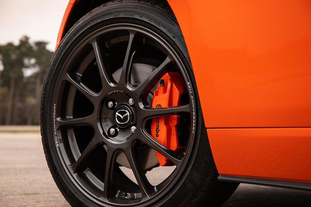 Mazda MX-5 30th Anniversary wheel The Car Expert