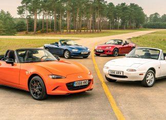 Four generations of Mazda MX-5 | The Car Expert