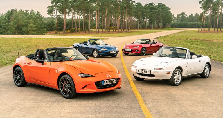 Mazda MX-5 – 30 years old and still a world favourite