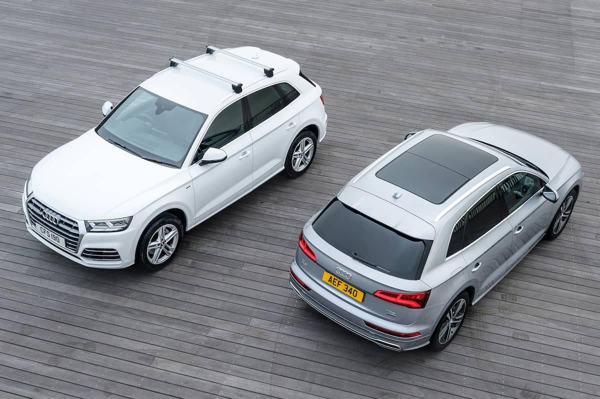 Audi Q5 (2017) overhead view | The Car Expert