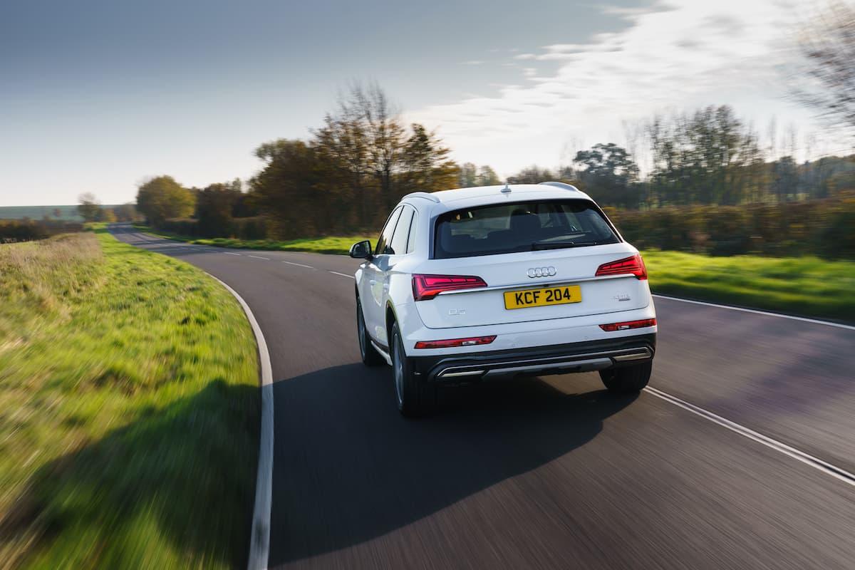 Audi Q5 (2017 onwards) - rear view