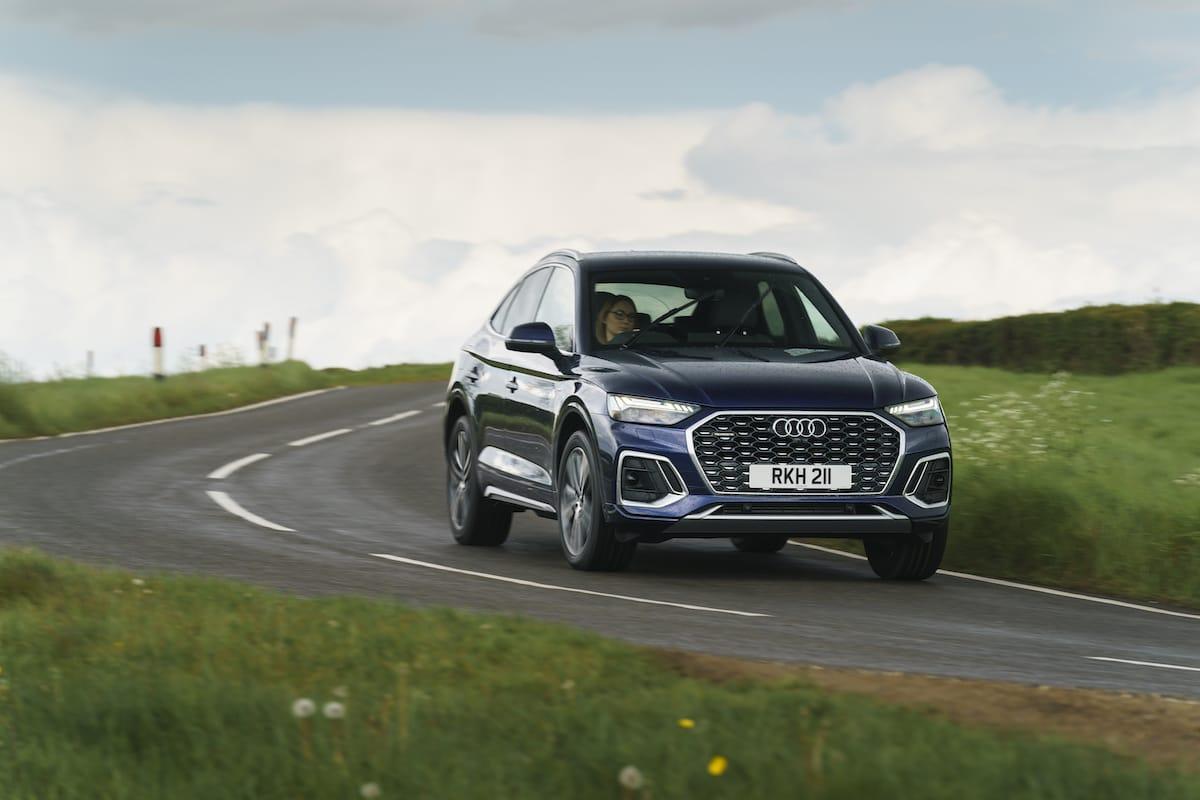 Audi Q5 Sportback (2021 onwards) - front view