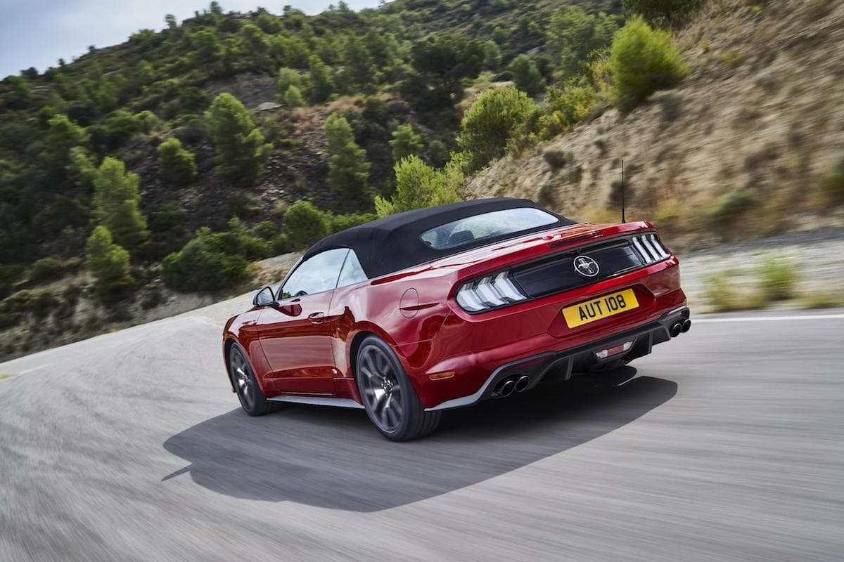 2020 Ford Mustang 2.3-litre EcoBoost - rear | The Car Expert