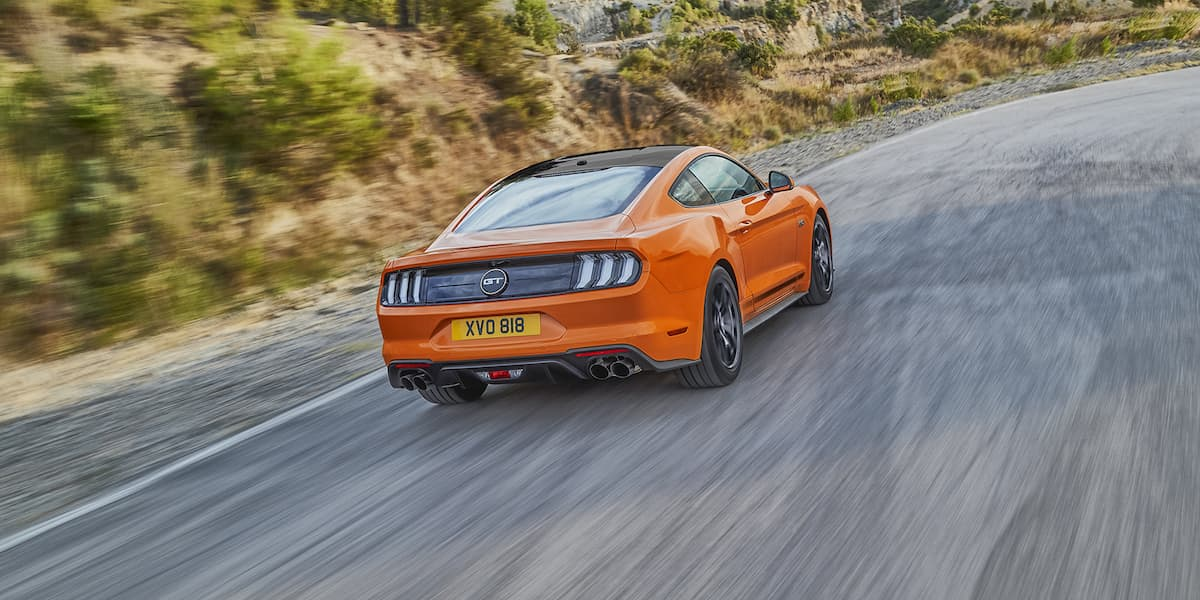 Ford Mustang55 - rear | The Car Expert