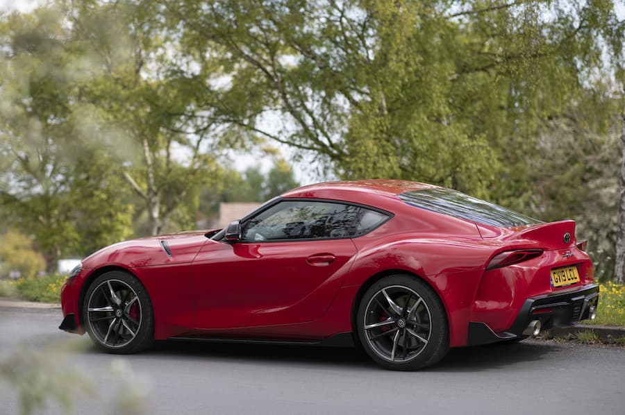 Toyota GR Supra (2019) rear view | The Car Expert