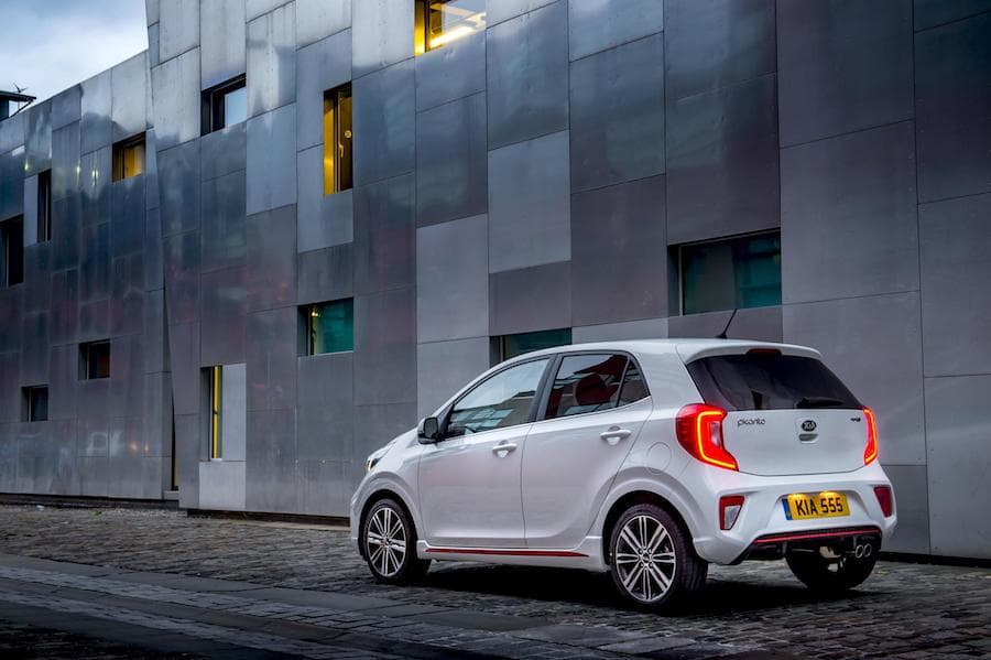 Kia Picanto (2018) rear view | The Car Expert