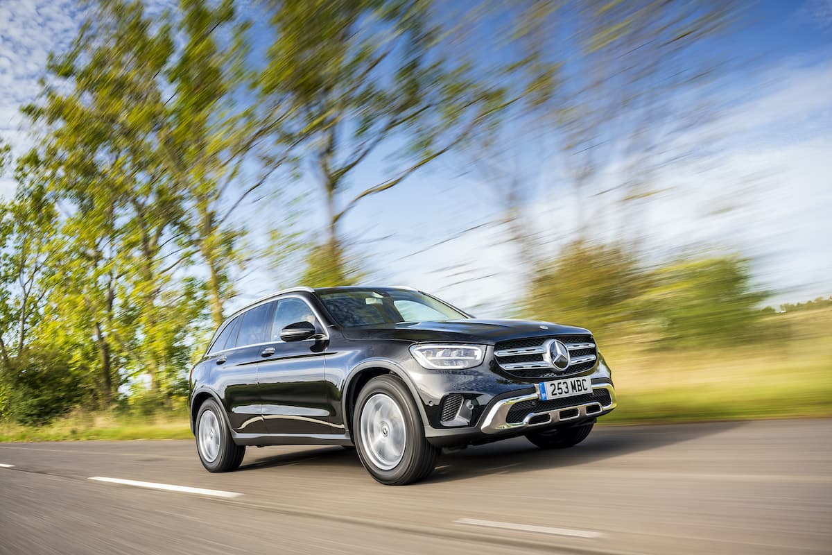 Mercedes-Benz GLC (2015 onwards) - front view | The Car Expert