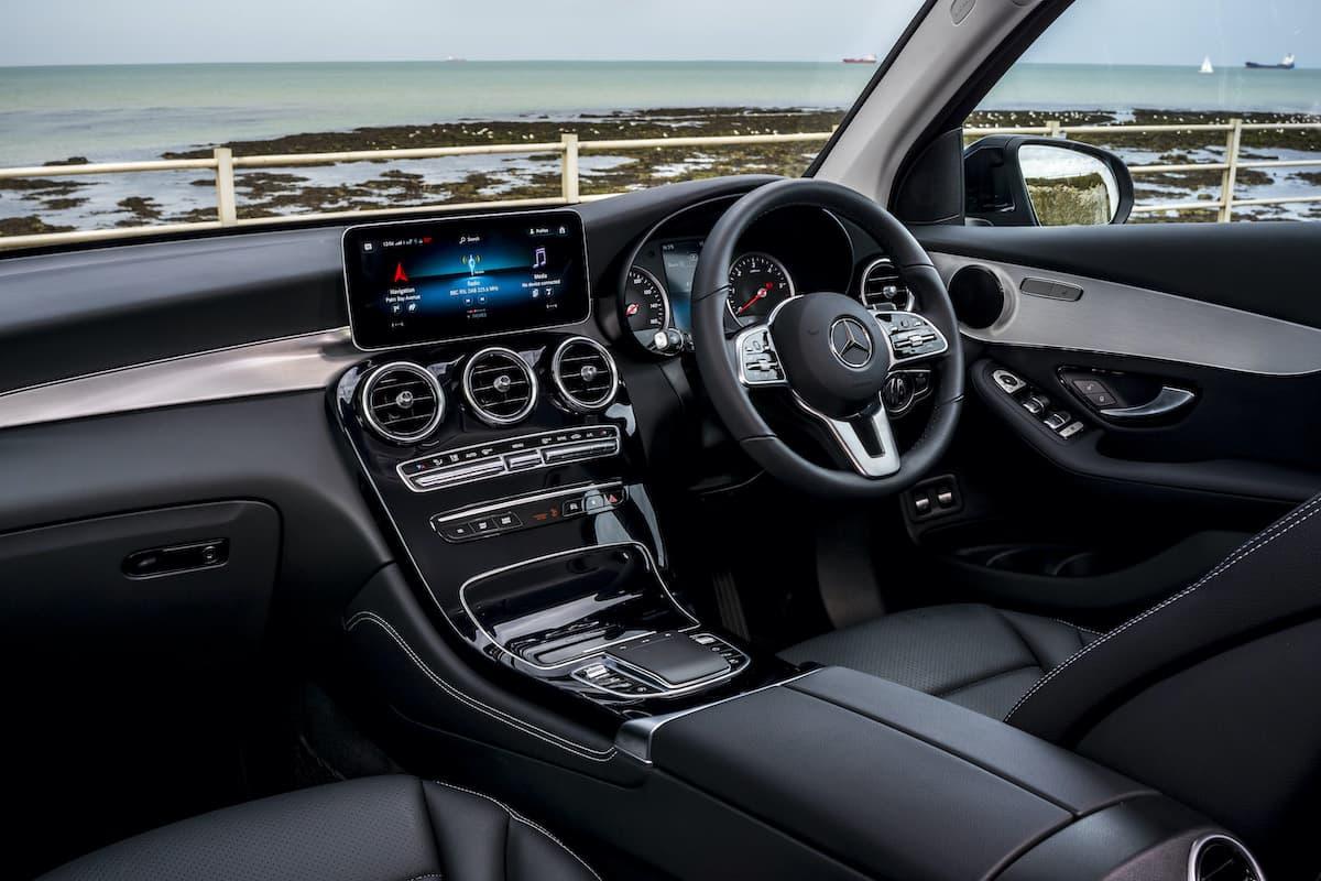 Mercedes-Benz GLC (2015 onwards) - interior and dashboard | The Car Expert