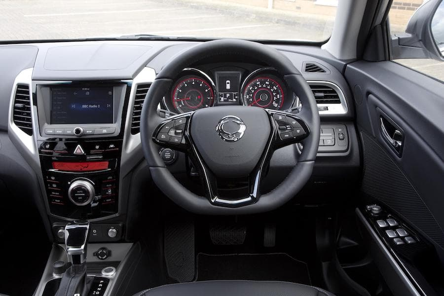 SsangYong Tivoli (2015-2019) - interior and dashboard