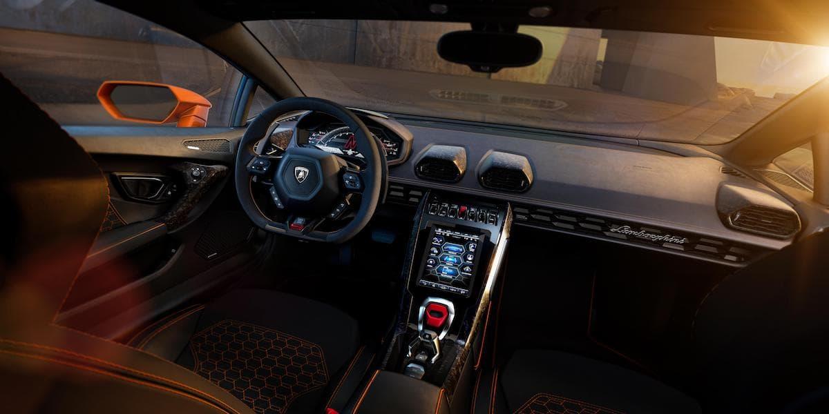 Lamborghini Huracan Evo (2019 onwards) interior and dashboard   The Car Expert