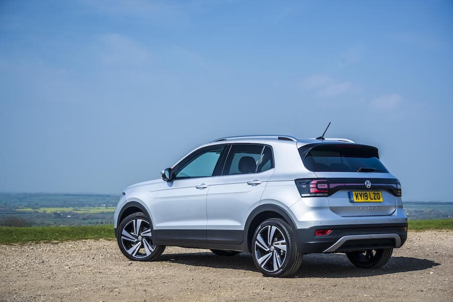 Volkswagen T-Cross (2019) rear view | The Car Expert