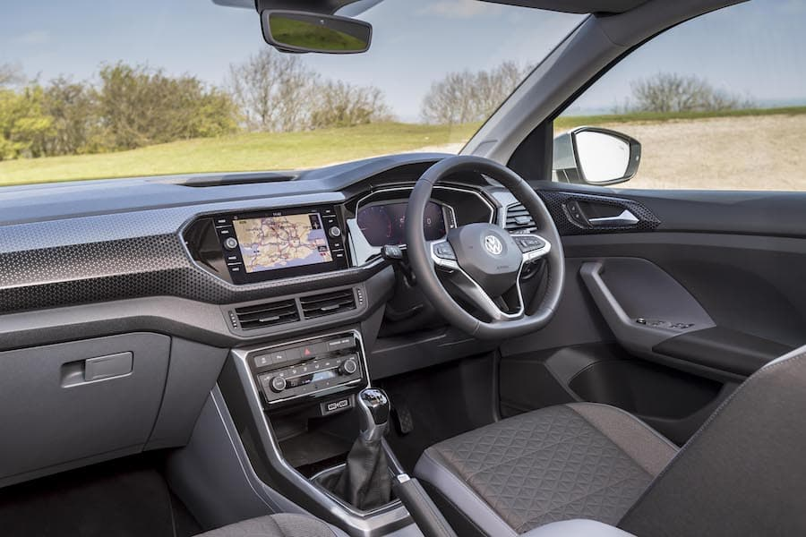 Volkswagen T-Cross (2019) interior and dashboard | The Car Expert