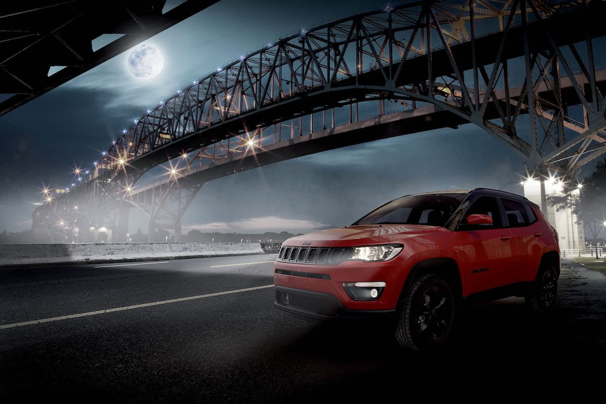 Jeep Compass Night Eagle - front | The Car Expert