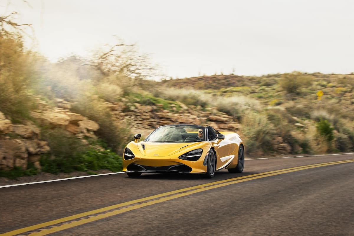 2019 McLaren 720S Spider road test - front | The Car Expert