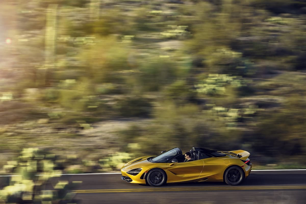 2019 McLaren 720S Spider road test - side | The Car Expert