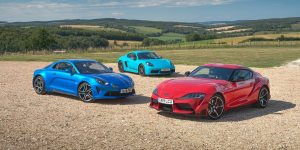 Triple Test: Toyota Supra vs Porsche 718 Cayman T vs Alpine A110 1