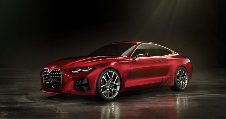Radical concept hints at next BMW 4 Series