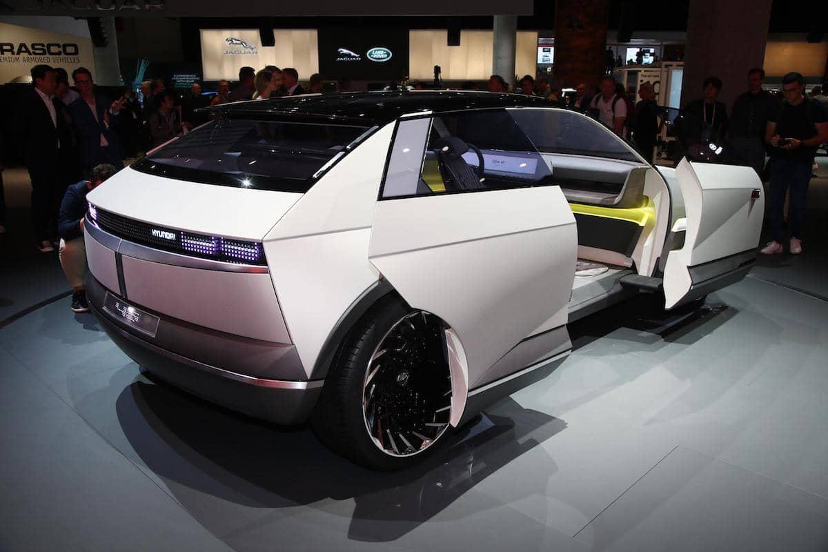 Hyundai 45 concept - rear view | The Car Expert