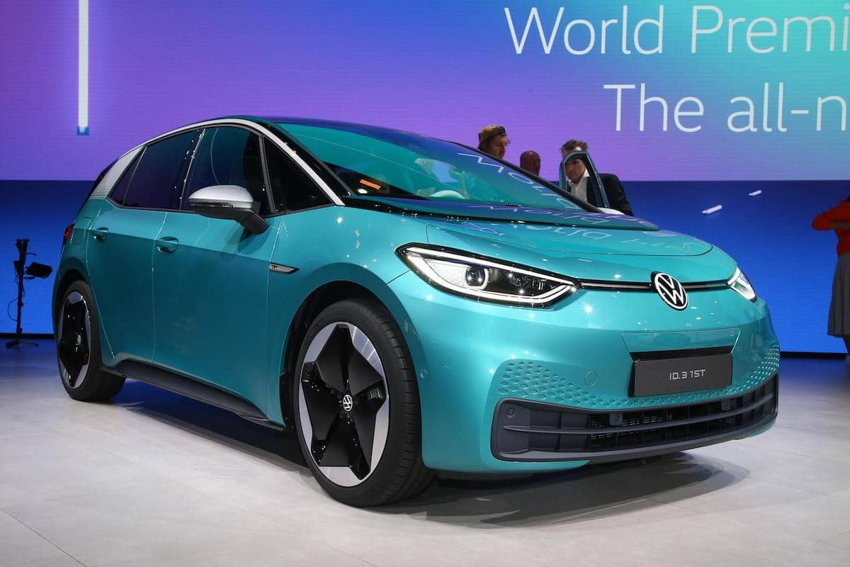 2020 Volkswagen ID.3 - front view   The Car Expert