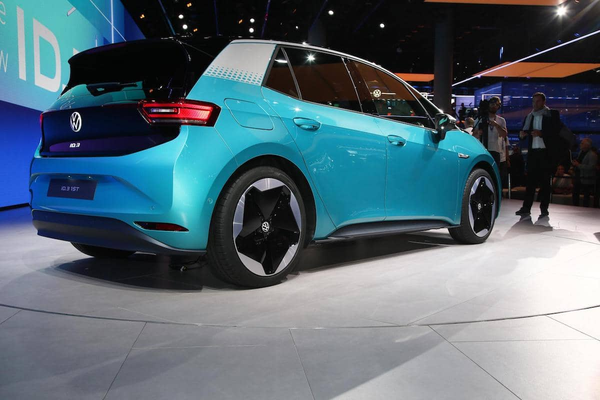 2020 Volkswagen ID.3 - rear view   The Car Expert
