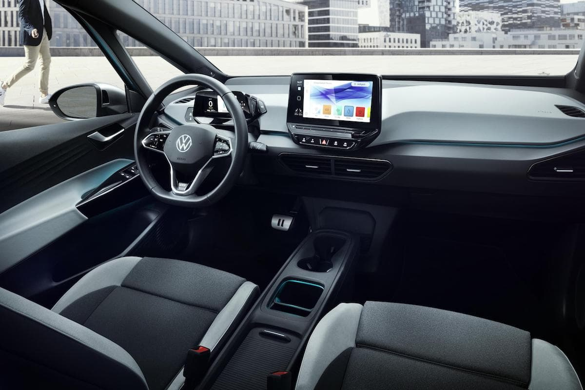2020 Volkswagen ID.3 interior and dashboard | The Car Expert