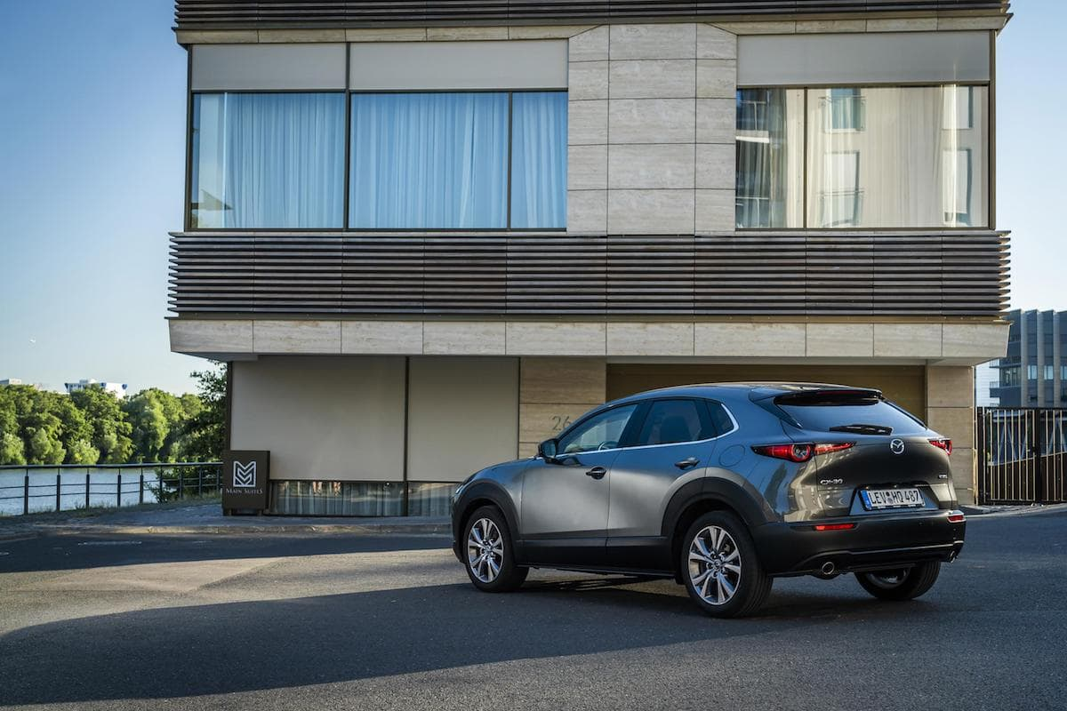 Mazda CX-30 - rear | The Car Expert