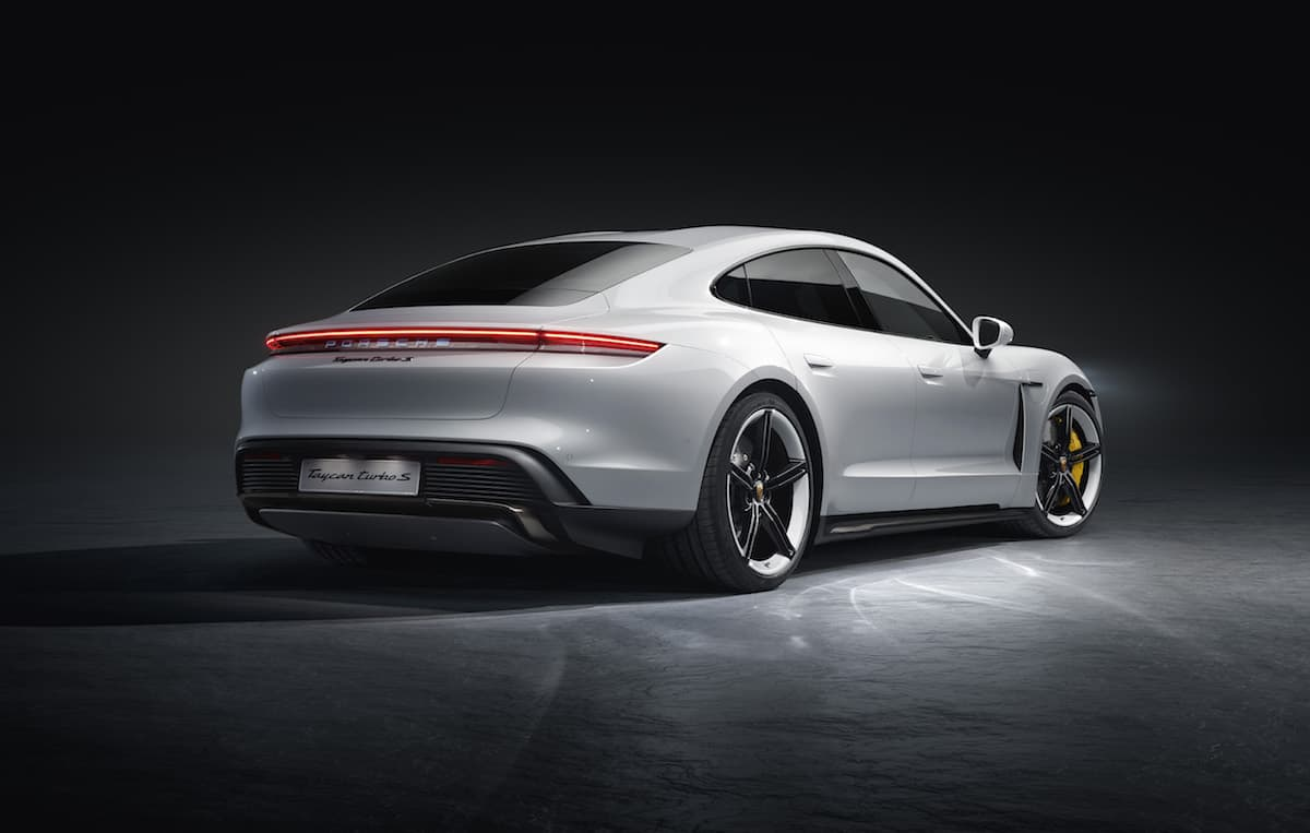 Porsche Taycan Turbo S - rear   The Car Expert