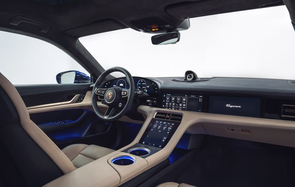 Porsche Taycan Turbo - interior   The Car Expert