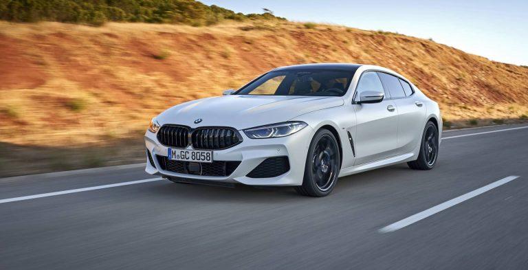 BMW 8 Series Gran Coupe test drive