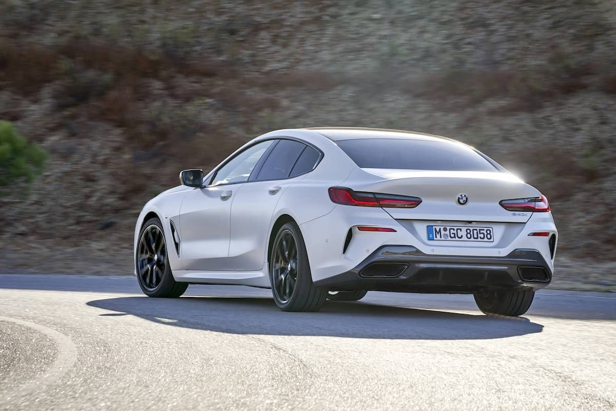 BMW 8 Series Gran Coupe road test – rear view | The Car Expert