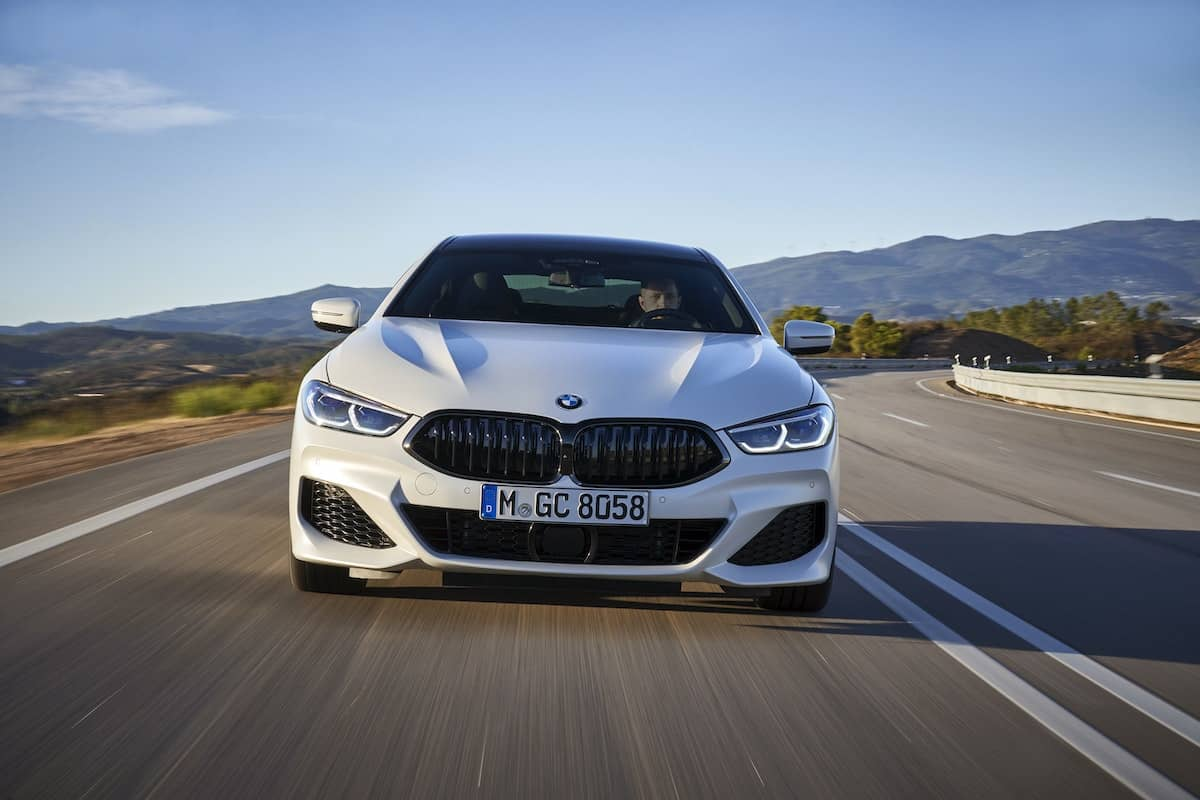BMW 8 Series Gran Coupe road test – front view | The Car Expert